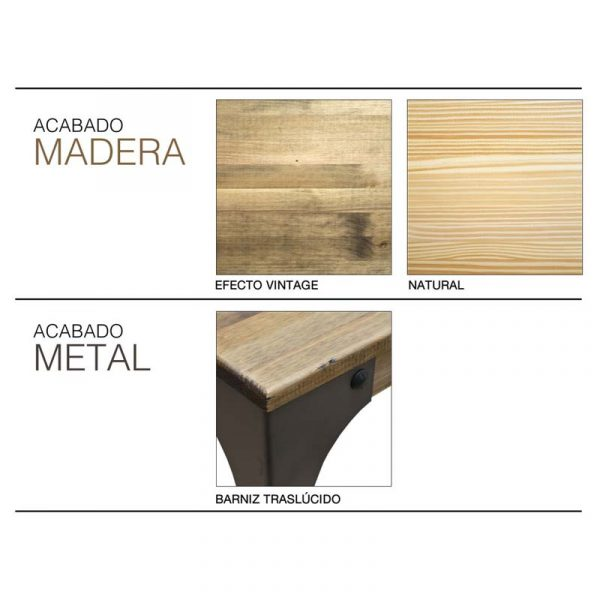 Mostrador de Madera Boston